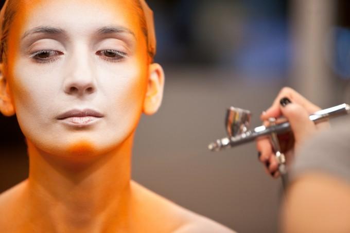 12 - VFS Makeup Design Students Display Halloween Makeup on Urban Rush by vancouverfilmschool