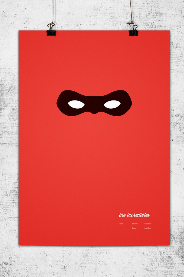 angel in the sickroom 10 awesome minimalist posters for pixar movies. Black Bedroom Furniture Sets. Home Design Ideas