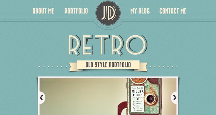 32 Awesome Retro Website Designs