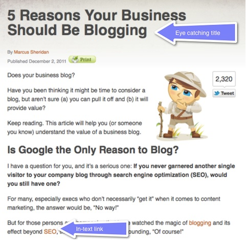 Five Tips to Write a Successful Blog Post
