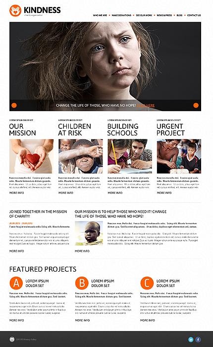 Charity Foundation WordPress Theme