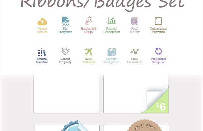 590-plus-Handcrafted-Icons-Ribbon-Badges-Set-design-deal-resource