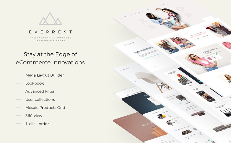 PrestaShop Multipurpose Responsive Theme