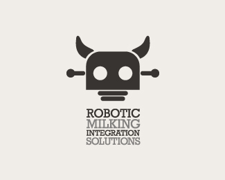 25 Epic Robot Inspired Logo Designs