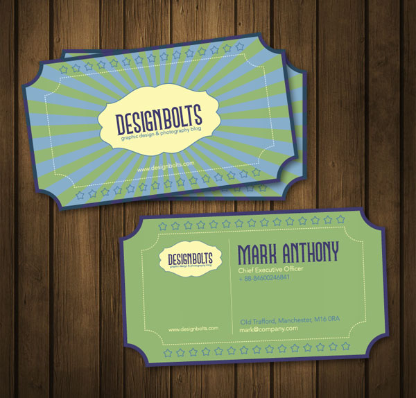 Free business card design templates beautiful free retro businesscarddesigntemplate vector ai eps files reheart Images