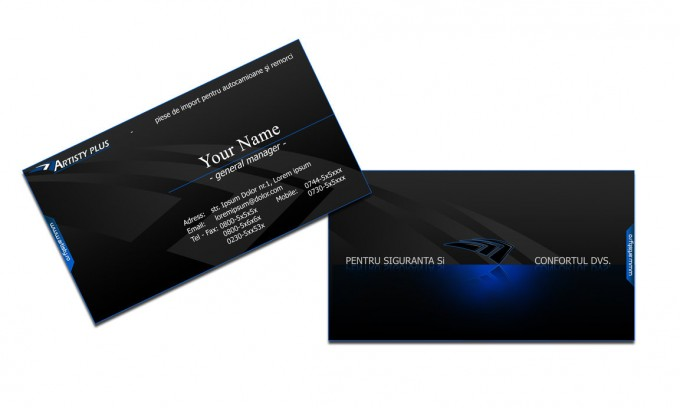 25 Fascinating PSD Business Card Templates