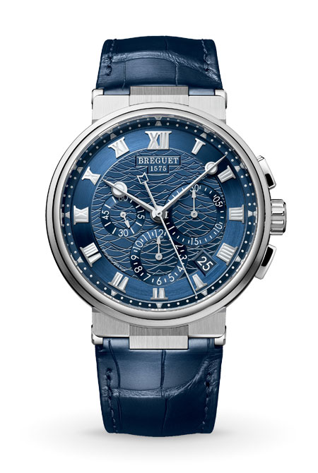 Breguet Classique 5527 style watch blue fashion geek