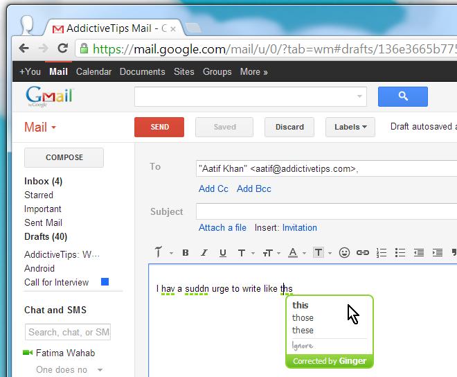 Chrome Add Ons