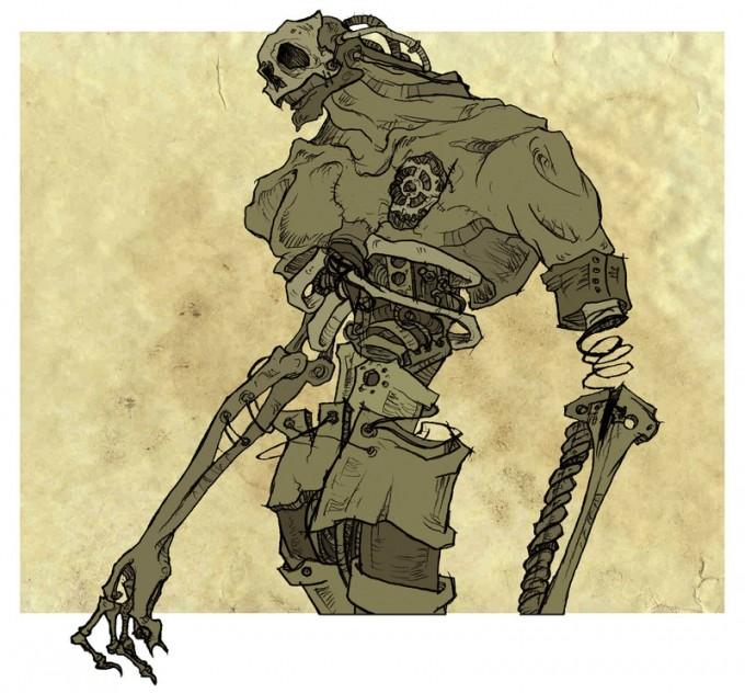 La machine à sous - Page 9 Commission__Cyborg_Zombie_by_MirrorCradle-680x632