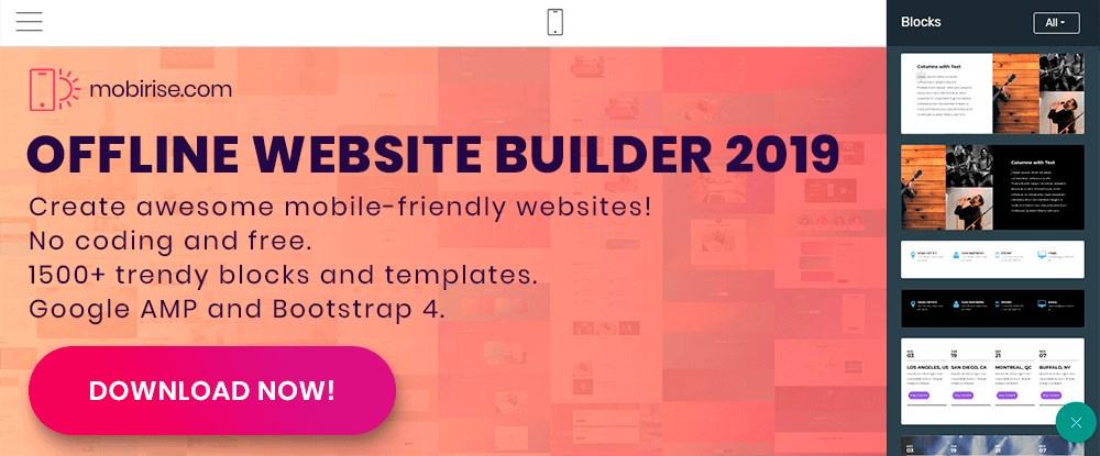 Designer-recommended tools for building websites and pages (5)