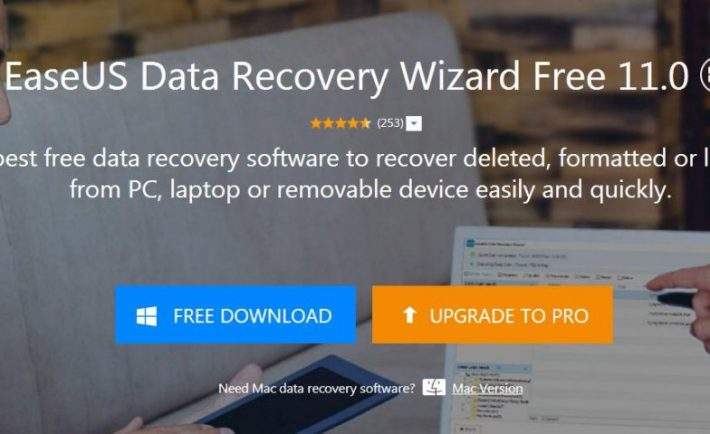 EaseUS Data Recovery Free 11.0