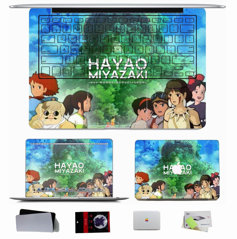 Hayao-Miyazaki-macbook-sticker-decals-skin