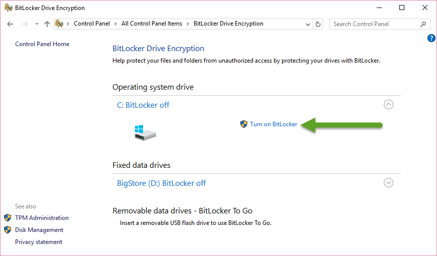 How to Encrypt a Windows Disk with BitLocker in 8 Easy Steps 1