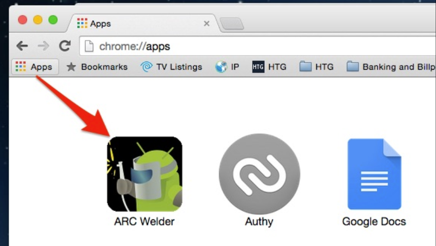 How to run Android applications in Google Chrome Using ARC Welder (4)