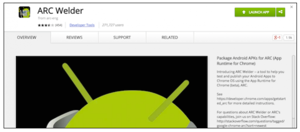 How to run Android applications in Google Chrome Using ARC Welder (6)