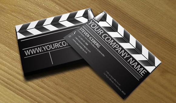 30 inspirational examples of black and white business card designs 2 bent art space business card reheart Gallery