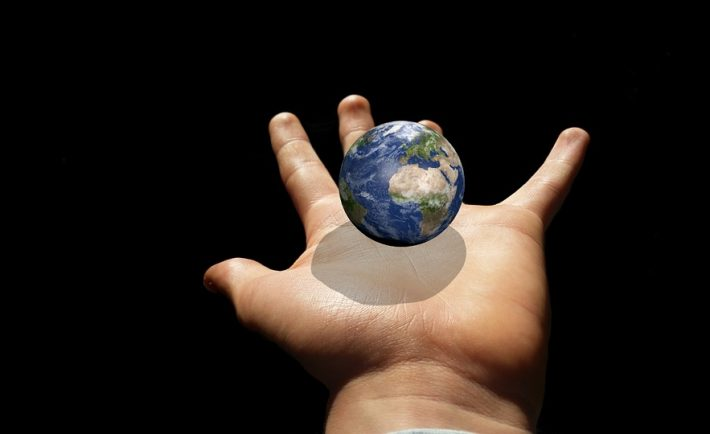 Keep Planet Globe Earth Hand