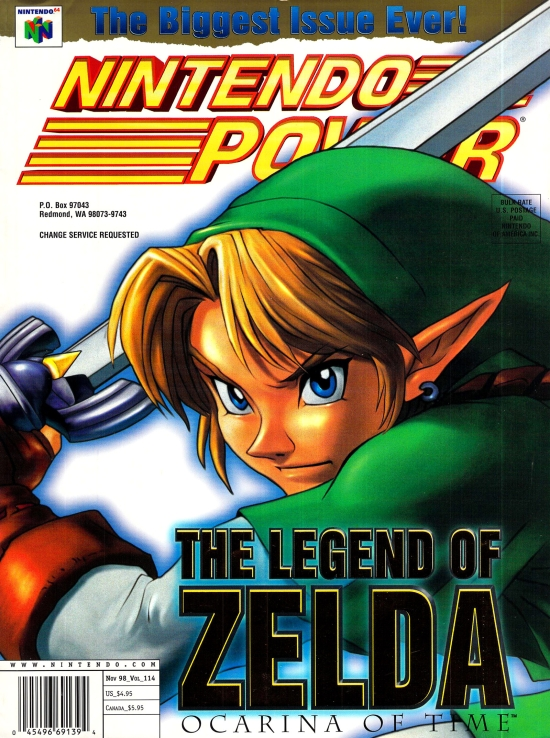 60+ Best Nintendo Power Magazine Covers
