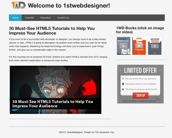 Responsive-Webstie-Design-Tutorial