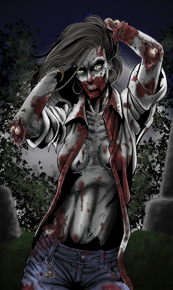 Zombies Sexi 55