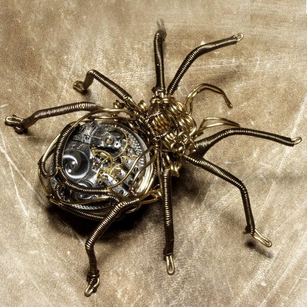 Steampunk Spiders