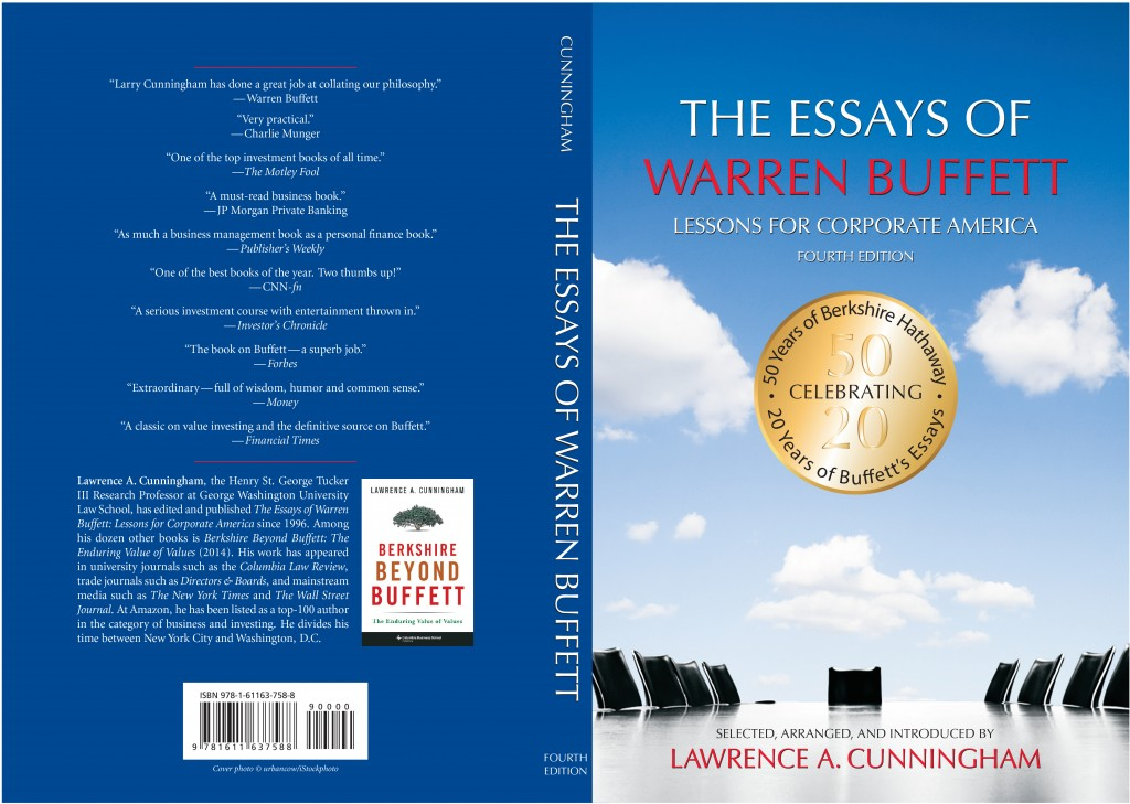 warren buffett essay Find great deals on ebay for essays of warren buffett shop with confidence.
