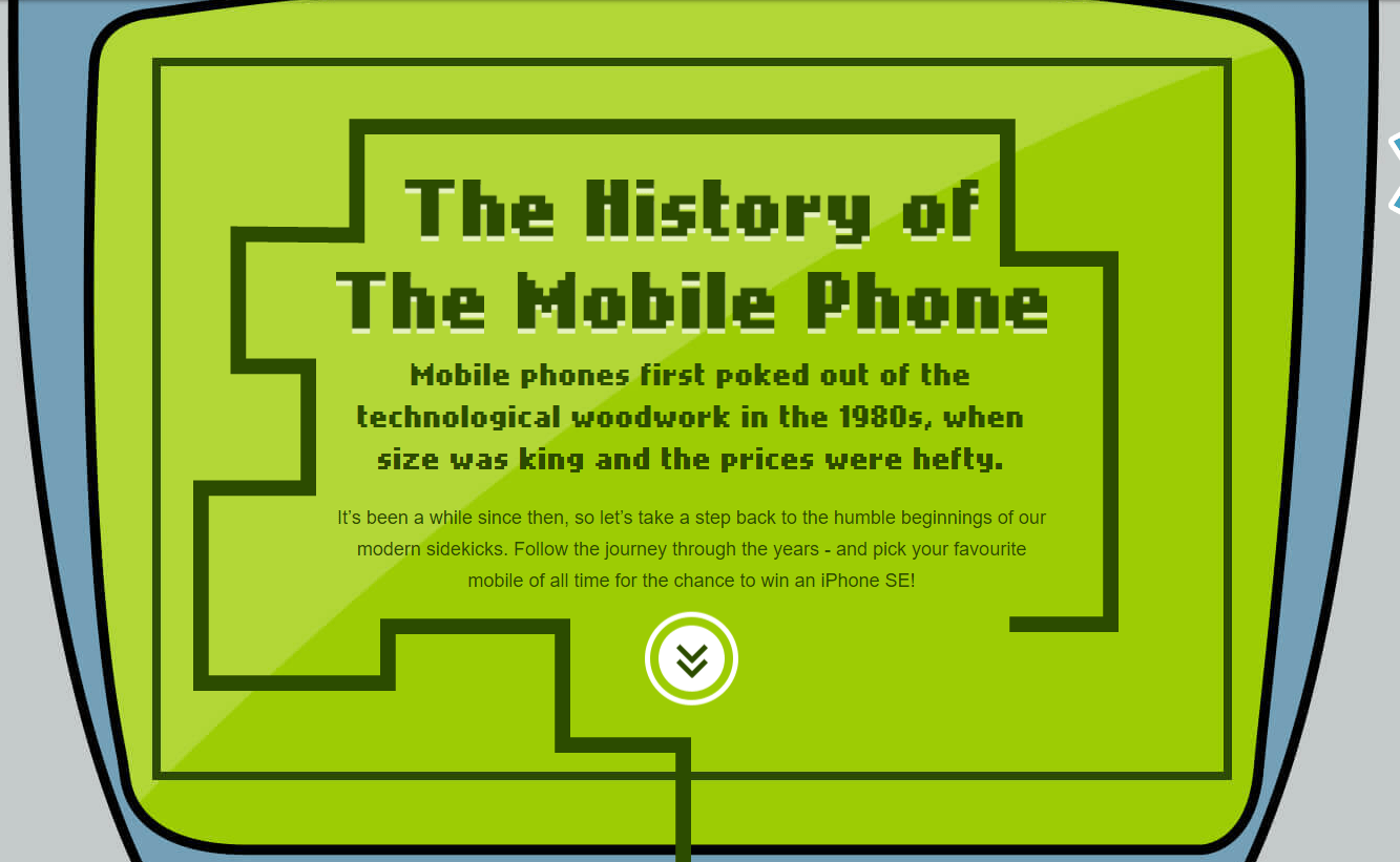 History of Mobile Phones Told Through Interactive Design [INFOGRAPHIC]
