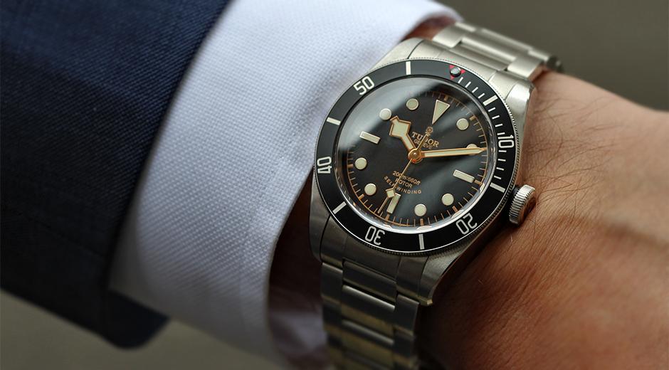 Tudor-Black-Bay-Black-watch-mens-fashion-tips
