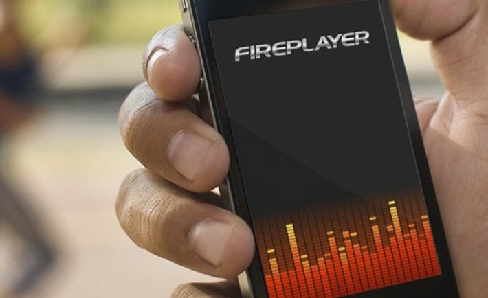 UI Design Soniq Fireplayer