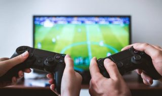 What does playing video games and playing a favorite sport have in common 1