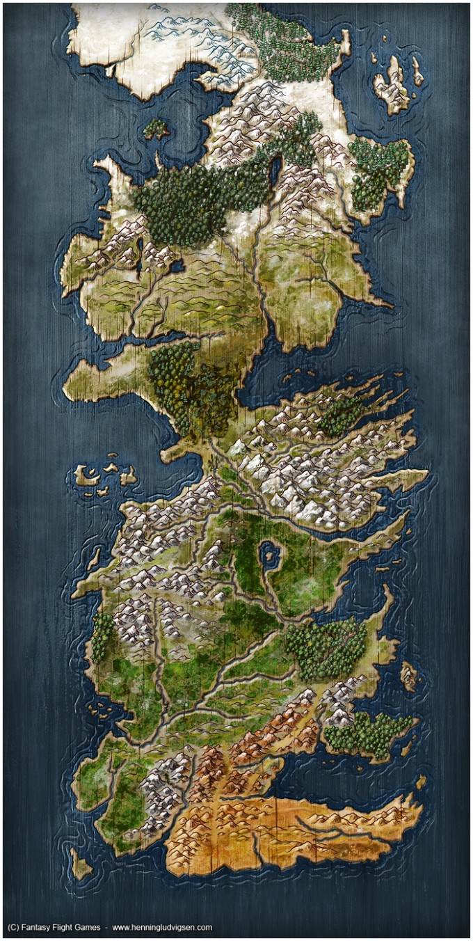 70 epic map design awesome map made for a game of thrones gumiabroncs Images