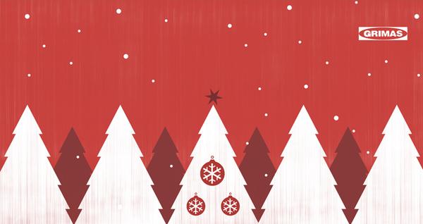 Christmas Design Inspiration 20+ creative, cheerful & warm holiday print postcard design