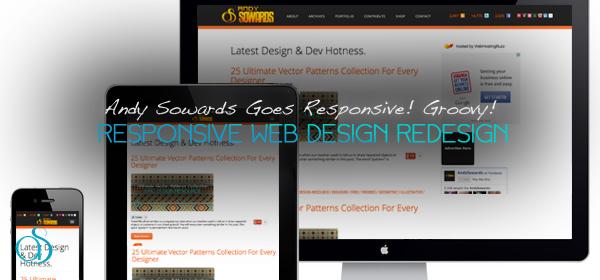 Design v5 – Andy Sowards Goes Responsive