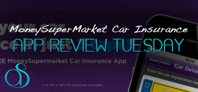 Tuesday Mobile App Review: MoneySupermarket Free Car Insurance App – Just 3 Taps To Renew Insurance!