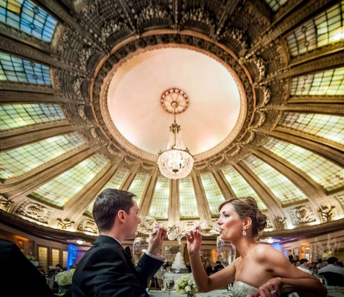 arctic-club-seattle-bride-groom-wine