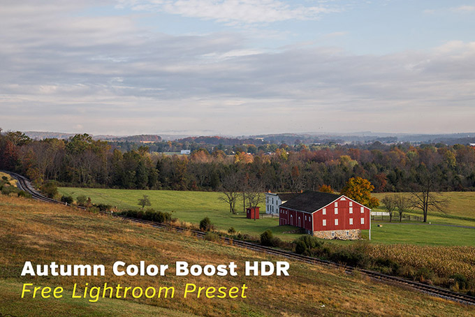 Autumn Color Boost HDR Lightroom Preset