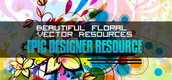 30 Beautiful Floral Vector Resources