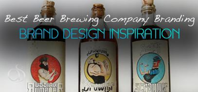 60+ Best Beer Brewing Company Branding Examples