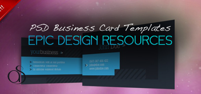 25+ Fascinating PSD Business Card Templates