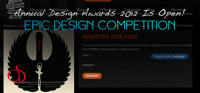 Design Competition – The Annual Design Awards 2012 Is Now Open For Entries!