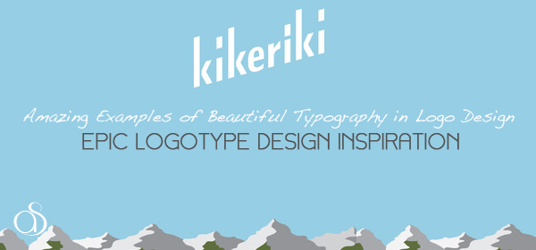 Examples of Beautiful Typography in Logo Design