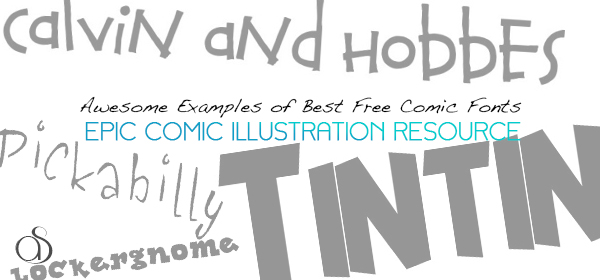 20+ Best Free Comic Fonts