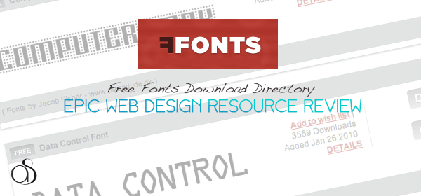 FFONTS Review – Free Fonts Download Directory