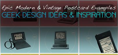 40+ Modern & Vintage Postcard Ideas