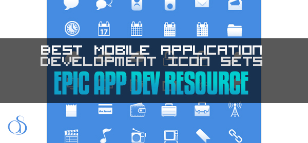 35 Best Mobile Application Development Icon Sets