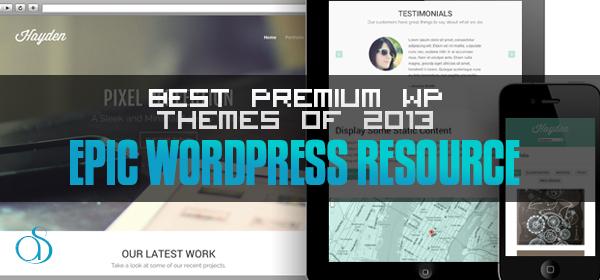 25+ Best Premium WordPress Themes of 2013 (So far)