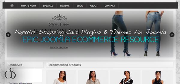 Popular Shopping Cart Joomla Plugins & Themes