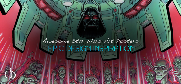 50+ Epic Star Wars Art Posters