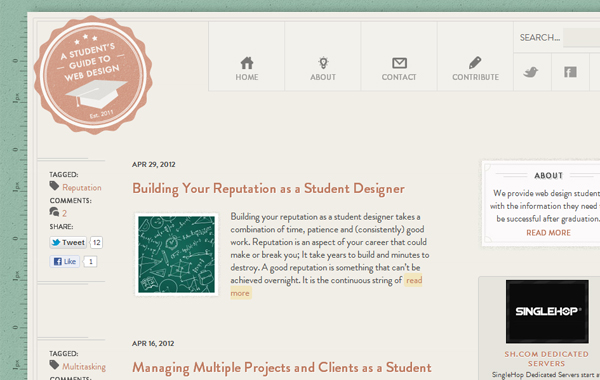 Classroom Based Web Design Course ~ Top online college courses for design visual graphics