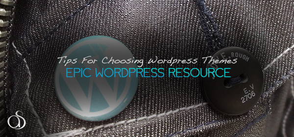WordPress Theme: Choose Responsibly
